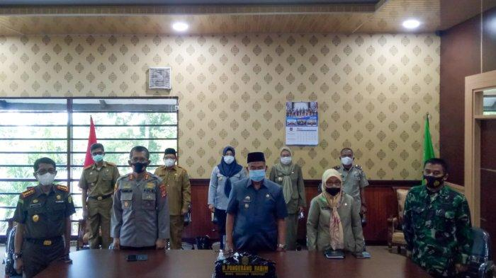 Wawali Parepare Hadiri Rakor Penegakan Disiplin Prokes Jelang Idulfitri 2021
