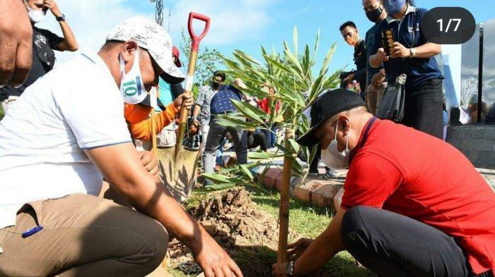 Penanaman 10 Ribu Pohon di Palopo Dimulai dari Lapangan Pancasila