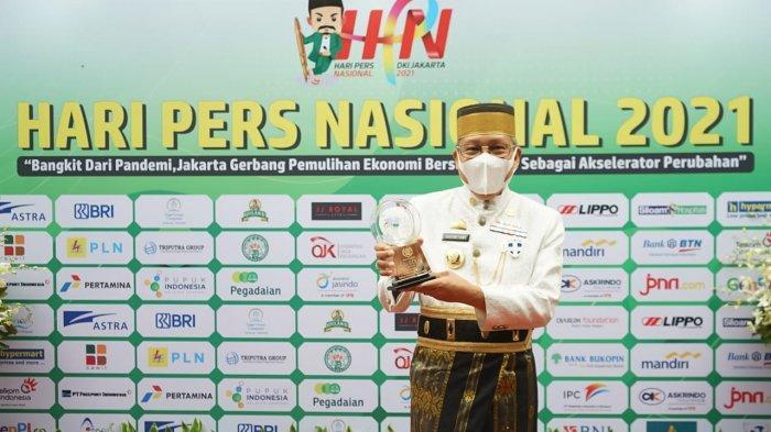 Taufan Pawe Satu-satunya Kepala Daerah di Sulsel Terima Anugerah Kebudayaan PWI