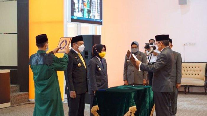 Taufan Pawe Lantik Dua Pejabat Tinggi Pratama Pemkot Parepare