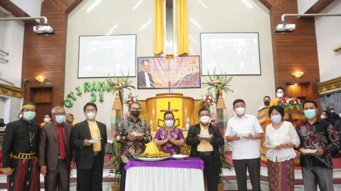 Wali Kota Makassar Pantau Perayaan Paskah di Gereja Toraja Jemaat Kampung Rama