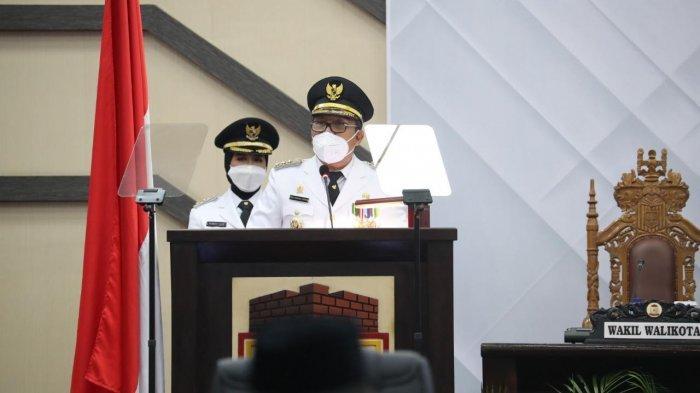 Pidato Pertama Setelah Dilantik, Danny Pomanto Minta Maaf pada Jusuf Kalla