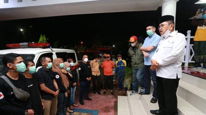 Wali Kota Palopo Lepas Rombongan Kemanusiaan ke Sulbar