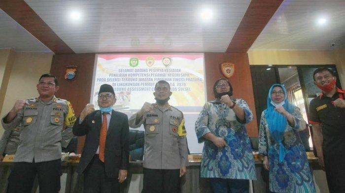 Dibuka Wali Kota Palopo, 28 Calon Kadis Ikut Assessment di Polda Sulsel