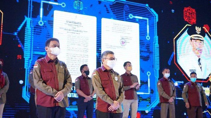 Wali Kota Parepare Taufan Pawe Dikukuhkan Jadi Tim Percepatan dan Perluasan Digitalisasi Daerah