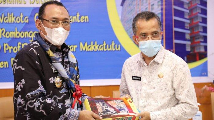 Sebulan Pasca Dilantik, Wali kota Cilegon Menimba Ilmu ke RSUD Prof Anwar Makkatutu Bantaeng