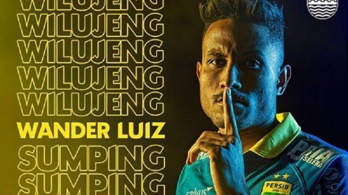 Wander Luiz Penyerang Persib Bandung Positif Corona, Diduga Tertular di Kota Ini