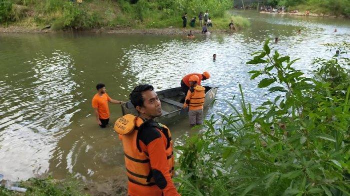 BREAKING NEWS; Bocah 14 Tahun Tenggelam di Sungai Wanawaru Barru