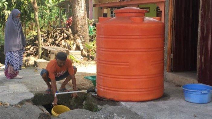 Warga Desa Batukaropa Bulukumba Dapat Suplai Air Bersih