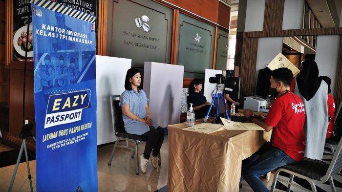 FOTO: Eazy Passport Hadir di Mall Pipo Makassar