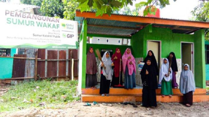 Warga Pesantren Darul Istiqamah Gowa Tak Lagi Kesulitan Akses Air Bersih