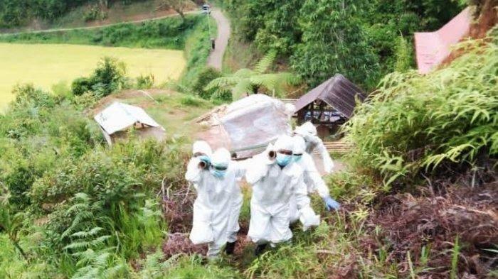 Seorang Warga di Toraja Dimakamkan Sesuai Protap Covid-19, Padahal Dinyatakan Negatif Usai PCR