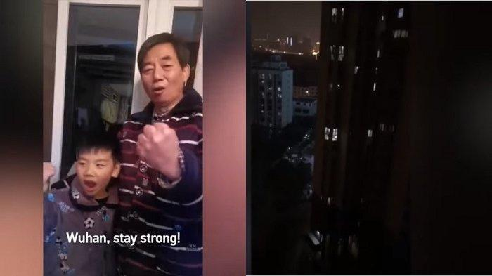 VIDEO VIRAL: Penduduk Kota Wuhan Berteriak Satu Sama Lain dari Rumah di Tengah Teror Virus Corona