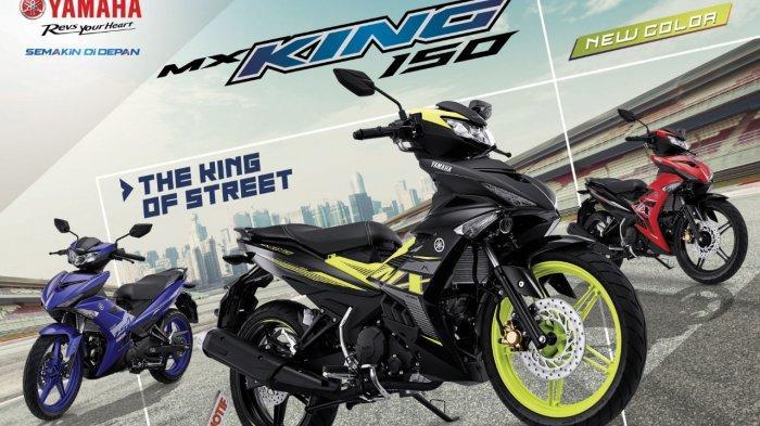 Yamaha MX King 150 Lebih Fresh dengan 3 Warna Baru di 2021, Segini Harga On The Road Makassar