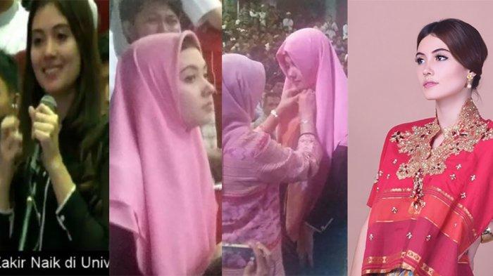 Jadi Perbincangan, Inilah Sosok Gadis Cantik Jadi Muallaf di Ceramah Zakir Naik di Makassar