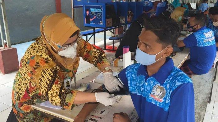 WBP Teroris Lapas Makassar Ikut Vaksin Covid-19