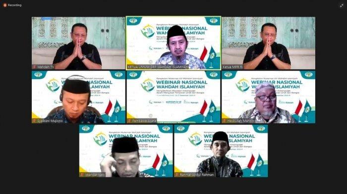 Webinar Kebangsaan Wahdah Islamiyah Hadirkan Ketua MPR RI