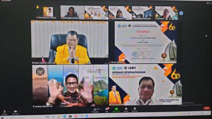Rektor UNM: Mengasah Jiwa Kewirausahaan, Sebagai Kampus Entrepreneur Terbaik di Indonesia