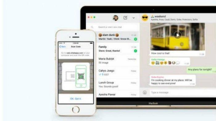 WhatsApp Tips - Cara Mudah Samarkan Chatting WhatsApp Web di Komputer atau Laptop