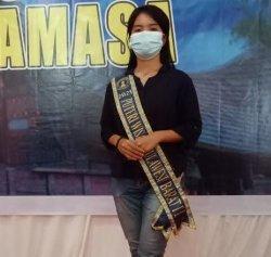 Wakili Sulbar Pemilihan Puteri Wisata Tingkat Nasional, Gadis Mamasa Promosikan Wisata Tondokbakaru