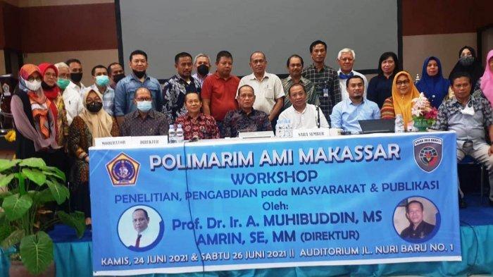 Tingkatkan Kualitas Penelitian, Pengabdian pada Masyarakat, dan Publikasi, Polimarim Gelar Workshop
