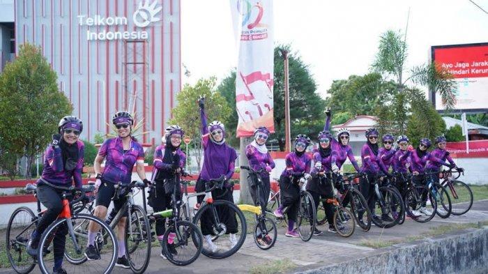 WCC Makassar, Komunitas Perempuan Pesepeda dengan Jargon Fit dan Happy di Luar dan dalam Rumah