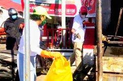 Diikuti Wakil Bupati, Word Cleanup Day di Toraja Utara Berhasil Kumpulkan 384 kg Sampah