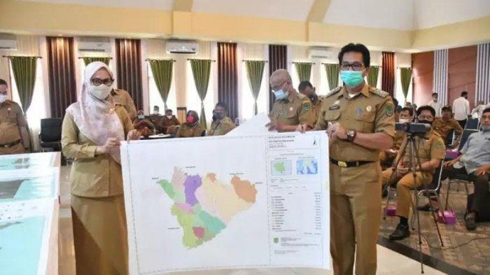 Peta Baper Inovasi Pemetaan Batas Desa Menggunakan DD di Luwu Utara, Pertama di Indonesia