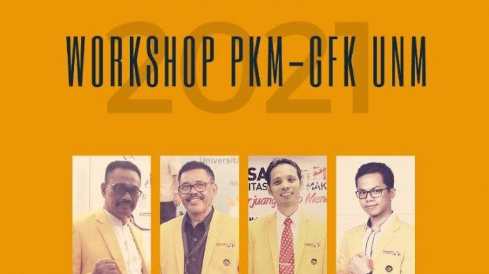 Sukardi Weda Apresiasi Workshop PKM GFK UNM, Harap Banyak Lolos PIMNAS 2021