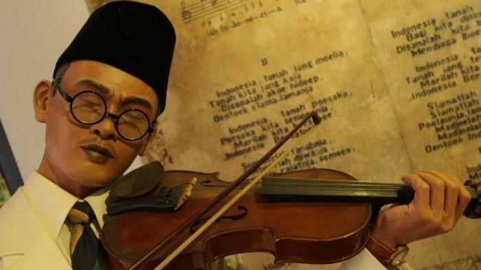 TRIBUNWIKI: Sejarah WR Supratman Pencipta Indonesia Raya, Belajar Musik di Makassar, Mantan Wartawan