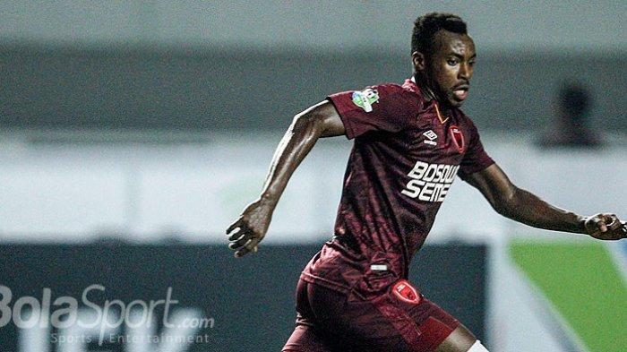 Eks Striker PSM Makassar Guy Junior Gagal Berseragam Persib Bandung