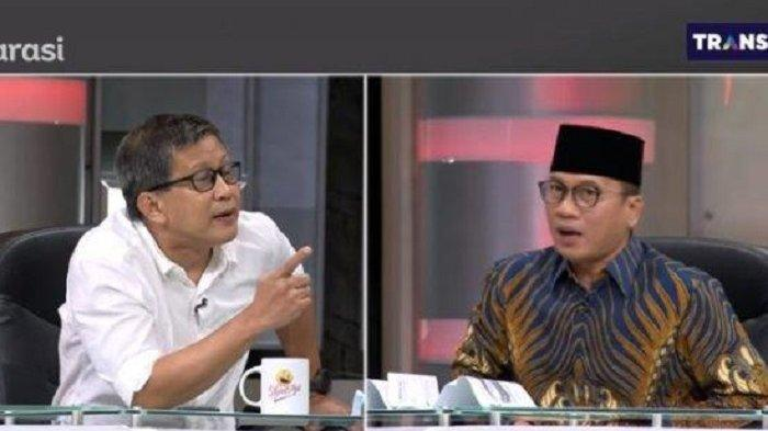 Yandri Susanto Berani Bantah Rocky Gerung 'Tak Ada Hubungan Pembatalan Haji dengan Habib Rizieq'
