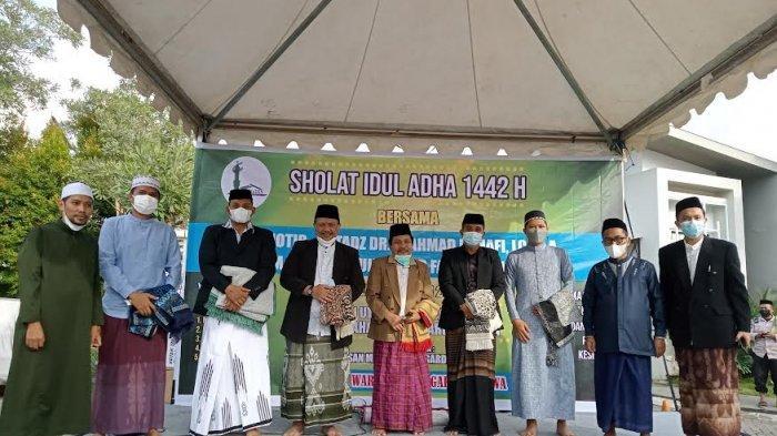 Warga Paccinongan Gowa Salat Iduladha di Kawasan Perumahan, Jamaah Wajib Pakai Masker & Cuci Tangan