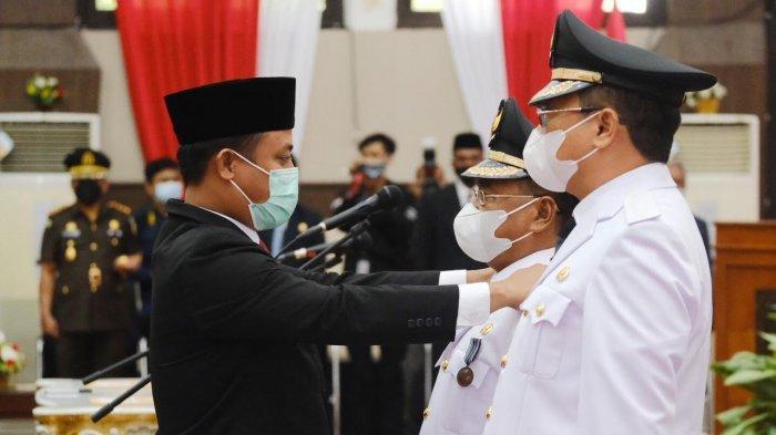 Ombas-Dedy Resmi Jabat Bupati dan Wakil Bupati Toraja Utara