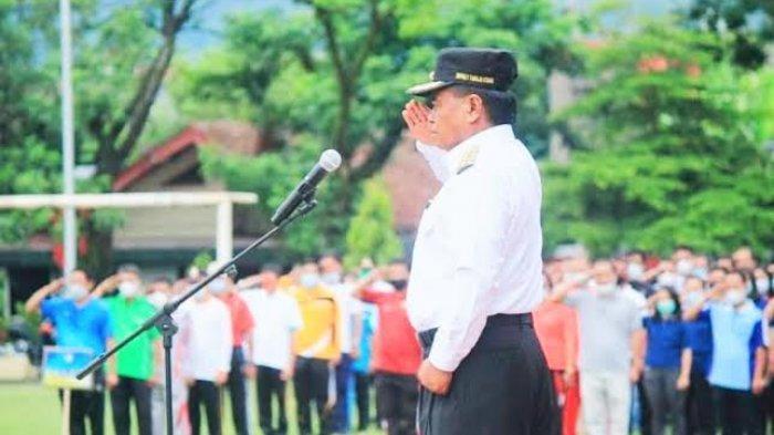 Ada ASN Positif Covid-19, Apel Gabungan Pemkab Toraja Utara Ditiadakan