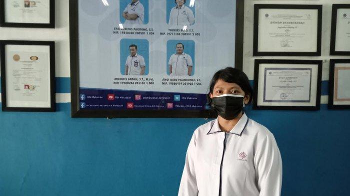 Cerita Youries Bulo, Instruktur Perempuan Mengajar Teknik Las di BLK Makassar