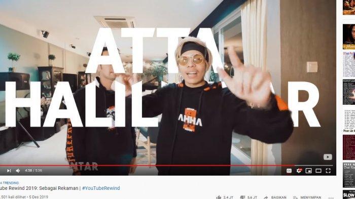 LENGKAP! Ini 50+ YouTube Creator Muncul di Rewind 2019, Ada Atta Halilintar, Blackpink, Free Fire - youtube-rewind-2019-atta-halilintar.jpg