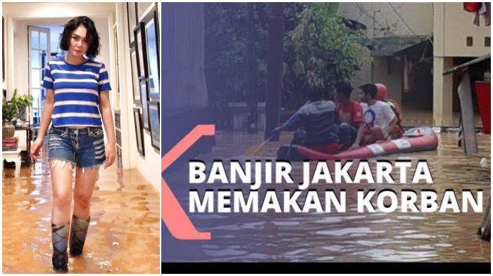 Tak Hanya Yuni Shara, 5 Artis Korban Banjir Jakarta Hari Ini, Rumah Mewah Terendam
