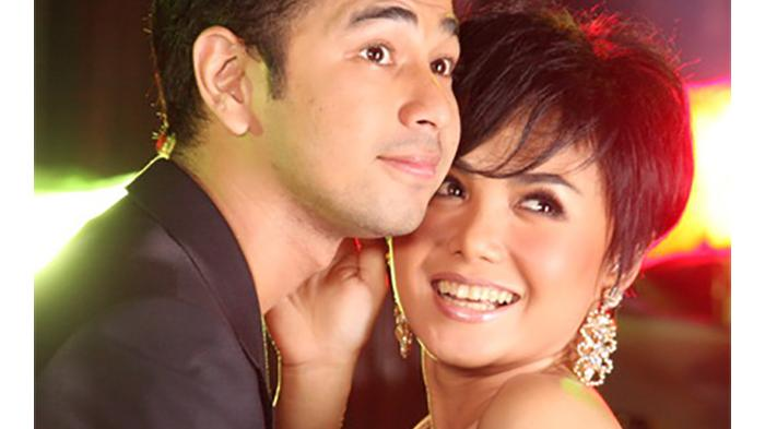 Raffi Ahmad dan Yuni Shara saat masih menjalin hubungan asmara