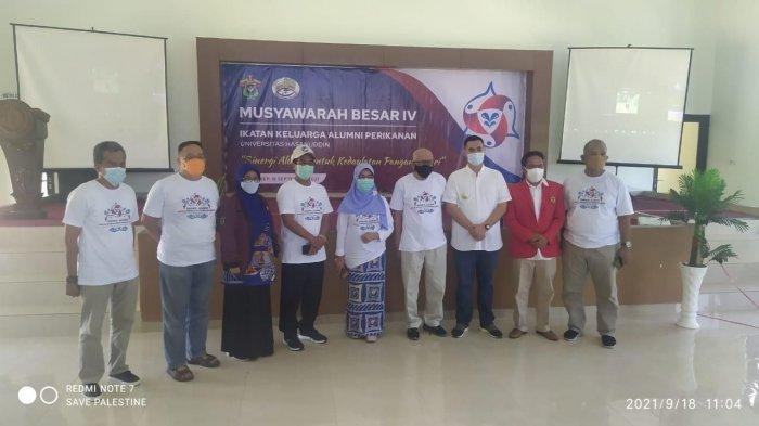Bupati Pangkep Yusran Lalogau Terpilih Aklamasi sebagai Ketua IKA Perikanan Unhas