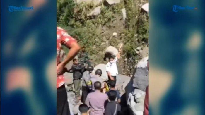 VIDEO: Ngevlog Berujung Maut, Pria Ini Tewas Terjatuh dari Tebing Saat Buat Konten