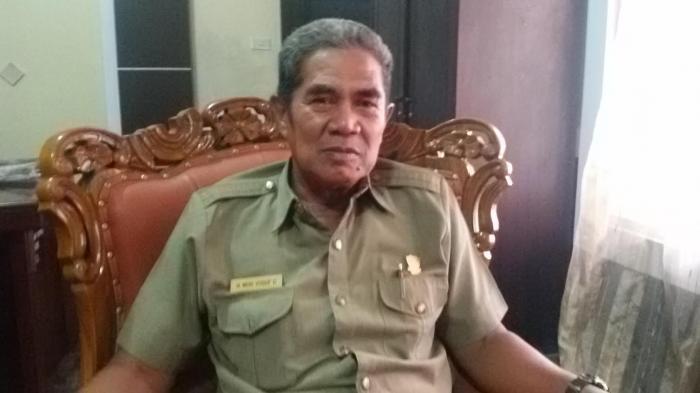 Ketua Fraksi Gerindra Maros, Muh Yusuf Damang