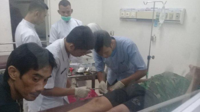 Duel Berdarah Adik Vs Kakak, Dada Yunus Ditikam, Dahi Zainuddin Diparangi