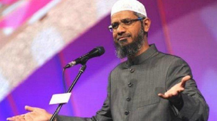 Dilarang Berceramah, Didesak Angkat Kaki dari Malaysia, Zakir Naik Ancam Laporkan 4 Menteri Malaysia