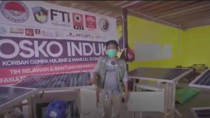 Ketua Forum Dekan Teknik Indonesia Turut Bantu Sediakan PLTS bagi Korban Gempa Bumi di Majene