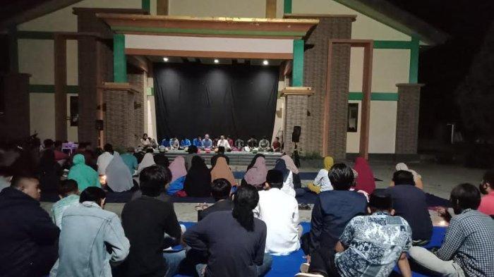 Mahasiswa Unasman dan IAI DDI Polman Doa Bersama untuk Korban Gempa Sulbar
