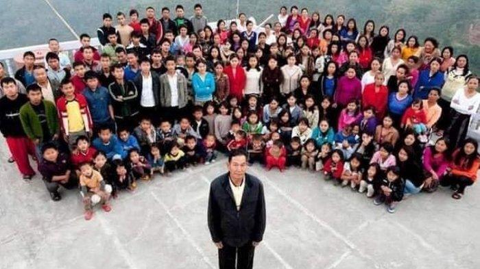 Bapak Poligami Dunia Meninggal Dunia, Sehari-hari Hidup di Rumah Berisi 181 Orang