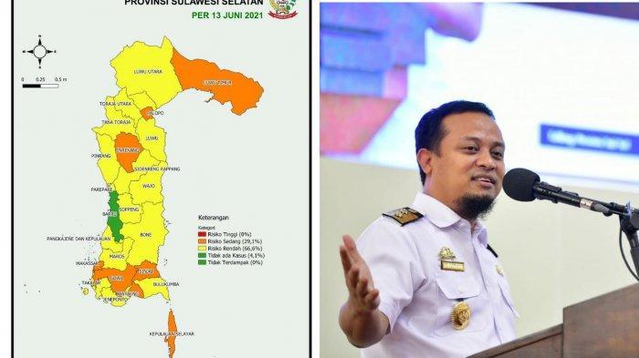 Update Corona Sulsel Hari Ini: Barru Sudah Zona Hijau, Zona Orange Bertambah