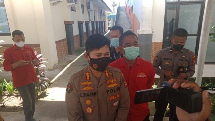Kabid Humas Polda Sulsel Besuk Bocah Korban Pesugihan di Gowa