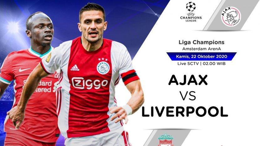 Link Live Streaming Sctv Liverpool Vs Ajax Amsterdam Liga Champions Tonton Gratis Via Hp Di Sini Tribun Timur